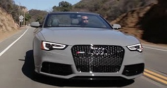 Audi RS5 Cabriolet The Battleship That Screams