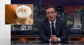 Last Week Tonight with John Oliver Pumpkins Spice