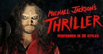 Michael Jacksons Thriller Sung In 20 Different Style