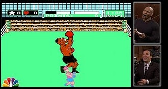 Mike Tyson Plays Himself In Mike Tysons Punch-Out