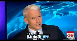 Anderson Cooper Had No Idea His 'Ridiculist' Was About Him