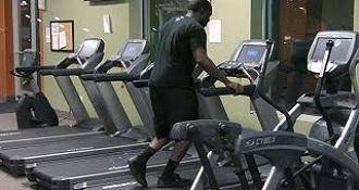 Talking Treadmill Prank