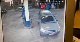 Woman Can't Find her Petrol Cap