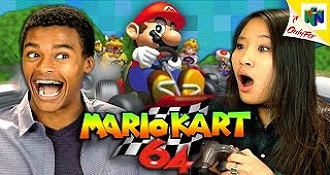 Teens Of Today Play Mario Kart 64