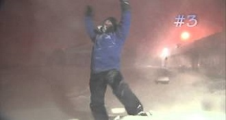 Cantore Thundersnow Montage