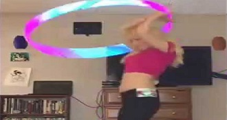 Watch Her Hula Hoop All Day