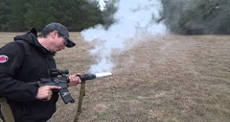 Cooking Bacon On Gun Silencer Is Pure America