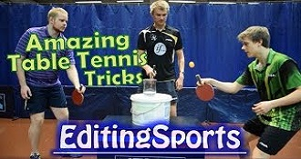 Forrest Gump Has Nothing On These Table Tennis Tricks