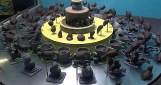 This Chocolate Cake Comes To Life With The Help Of A Strobe Light