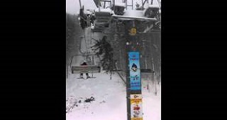 A Tree Falls On The Chair Lift
