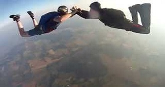 Field Contains Video From Skydiving