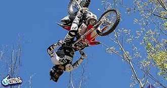 First Ever Triple Backflip On Motorcycle