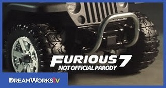 Furious 7 Remade By Children