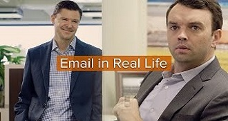 If Email was Real Life