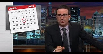 John Oliver Discuesses The IRS