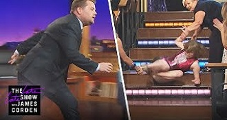 Katie Couric Pranks James Corden