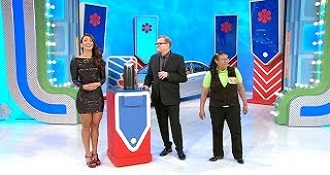 The Price Is Right Model Winning Of Brand New Car