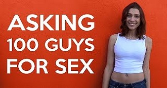 This Young Woman Asks 100 Men For Sex