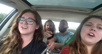 Car Sing along Unexpectedly Takes A Turn For The Worst