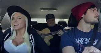 Epic Mashup In A Car Is The Coolest Thing