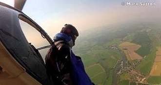 Jumps Out of Plane Without Parachute