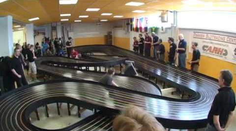 Since when did slot cars go 110 mph
