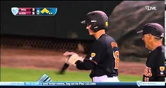 Watch This Batter Catch A Fastball