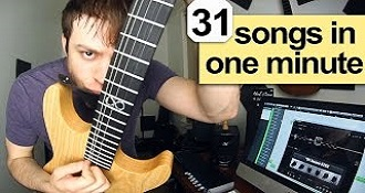 31 Rock Songs In 1 Minute Compilation