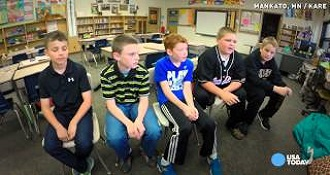 Boys Reaction To Bullying Will Melt Your Heart