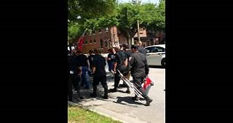 Musician Playing Tuba During KKK March Is Hilarious