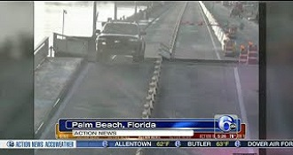 This Driver Went Dukes Of Hazzard Over A Drawbridge In Florida