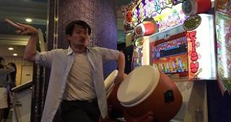 This Guy Is Better Than You'll Ever Be At This Japanese Drumming Arcade Game