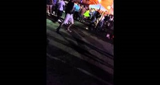 This Guy Receive Comeuppance For Throwing Beer Bottles Into A Crowd