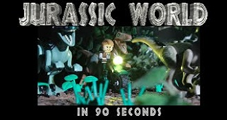 Jurassic World In Lego