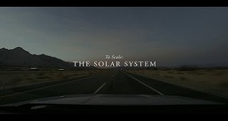 Scientists Make Model Solar System To Scale In The Desert