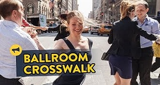 Surprise Ballroom Dancing In Manhattan Crosswalk Prank