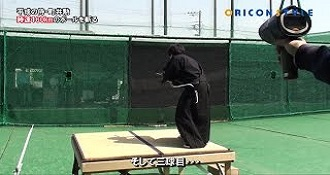 Samurai Slices High Speed Baseball In Half