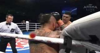 This Boxer Plead With The Ref To Stop The Fight