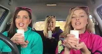 Girls Make Hilarious Lip Sync Cover Of Ice Ice Baby In The Car