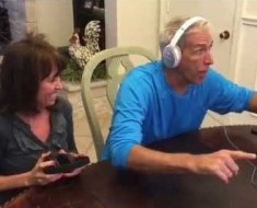 Parents Are Surprised With Pregnancy News While Playing Headphone Game