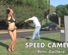Remi gaillard messes with speed cameras