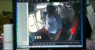 This Rowdy Passenger Threw A Punch At His Bus Driver