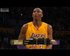 Kobe Bryant Scoring 60 Points In His Final Game