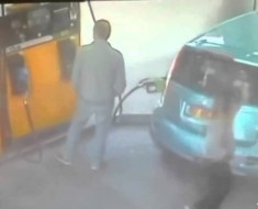Woman Sets Gas Station On Fire When Guy Won't Give Her A Cigarette