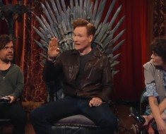 Conan Plays Overwatch With Peter Dink Lage And Lena Headey