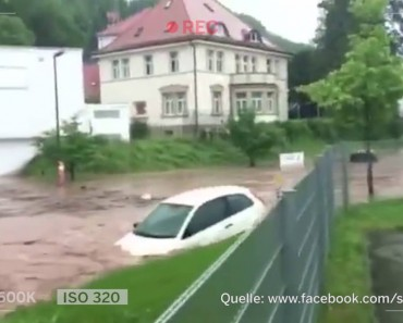 Torrential Rains Cause Chaos In Germany