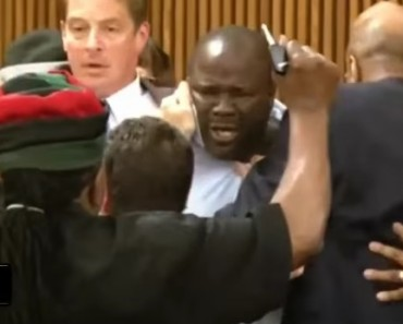 Victim's Father Jumps Serial Killer Michael Madison In Court