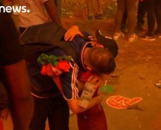 Little Portugal Fan Comforting Crying French Fan Is Ahhhhh