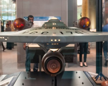 Restored Star Trek Enterprise Model