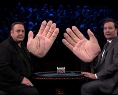 Jimmy Fallon And Kevin James Slap Each Other